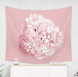 Pink Bouquet Tapestry for Her - Brandless Artist