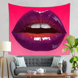Sexy Lips Tapestry - Erotic Wall Art | Brandless Artist
