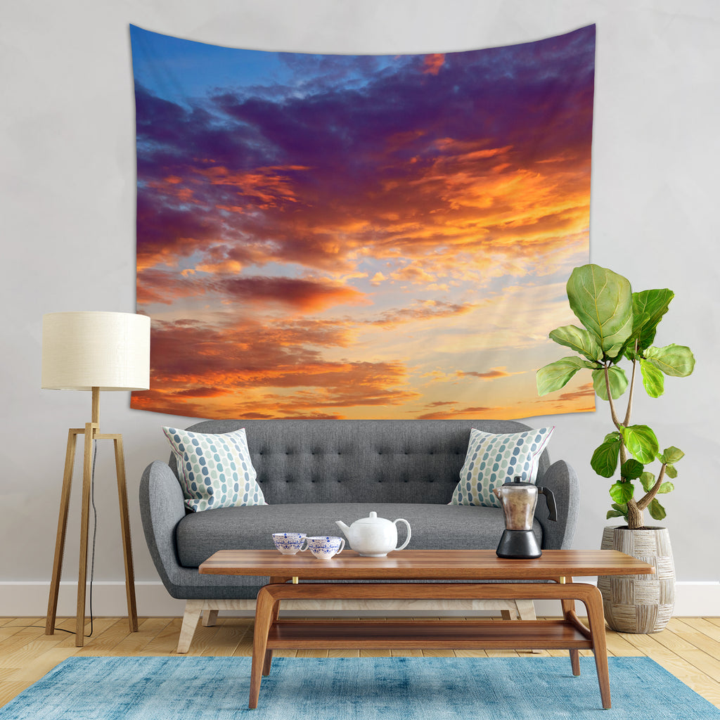Sundown Tapestry - Skyscape Tapestry | Brandless Artist