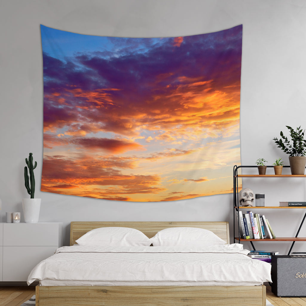 Sunset Wall Tapestry - Colorful Sky Tapestry | Brandless Artist