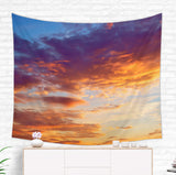 Sunset Tapestry - Colorful Sky Wall Hanging for Dorm Room
