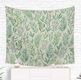 Vintage Leaf Tapestry -  Botanical Wall Decor