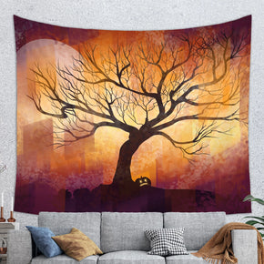 Halloween Tapestry -  Halloween Wall Hanging | Brandless Artist