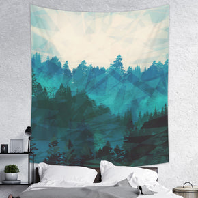Rainy Forest Tapestry - Nature Wall Hanging | Brandless Artist