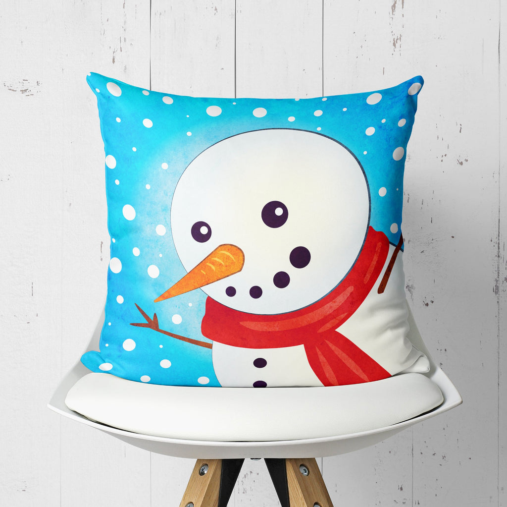 Christmas Pillow - Winter Kids Room Decor  | Brandless Artist