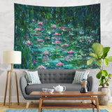 Floral Wall Hanging Abstract Painting Tapestry | Brandless Artist