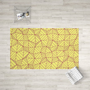 Yellow Area Rug - Kids Room Decor Washable Rug | Brandless Artist