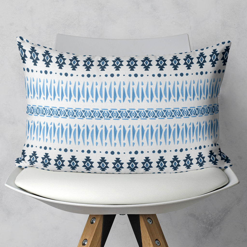 Aztec Throw Pillow in Rectangle Shape | Brandless Artist