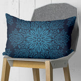 Midnight Blue Couch Pillow - Rectangle Throw Pillow Home Decor | Brandless Artist