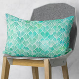 Botanical Pattern Pillow Couch Decor - Green from Linen or Microfiber | Brandless Artist