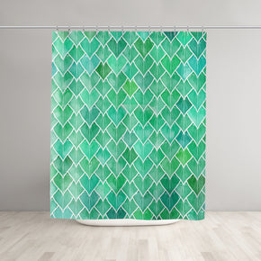 Rainy Leaves Shower Curtain - Brandless Artist