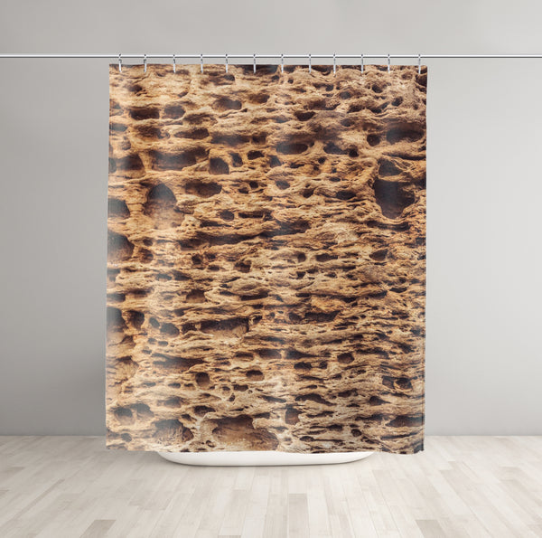 Sandstone Shower Curtain - Brandless Artist
