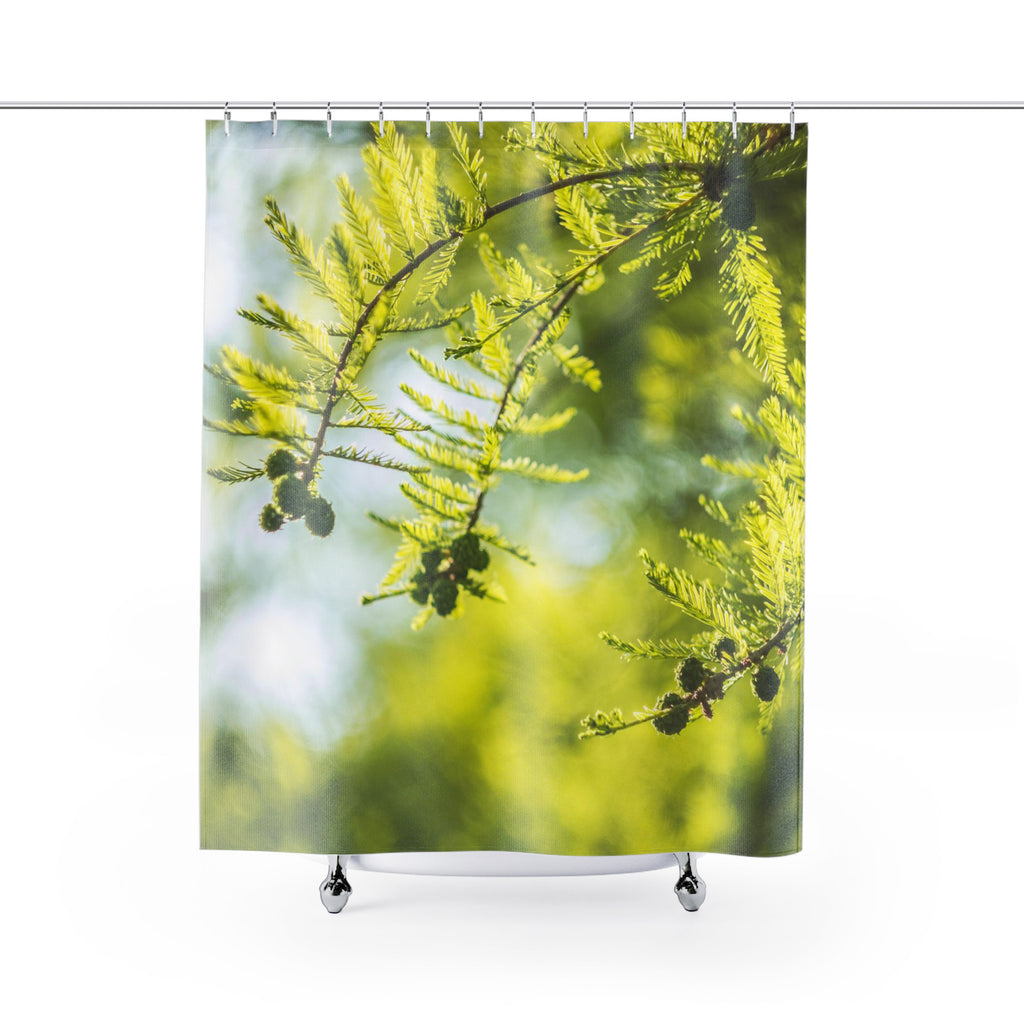 Green Nature Shower Curtains - Brandless Artist