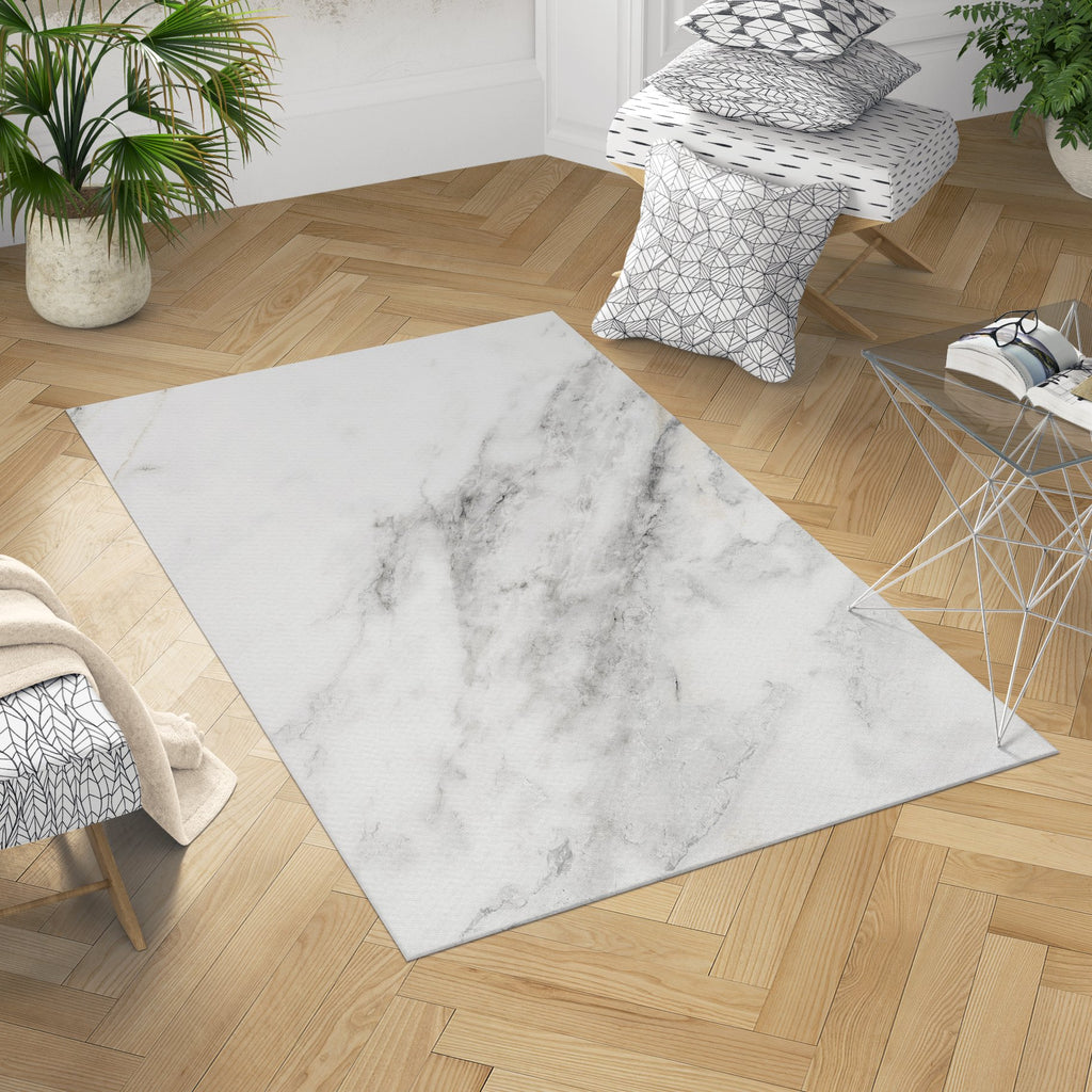 Marble Area Rug - Modern Gray Living Room Decor | Brandless Artist