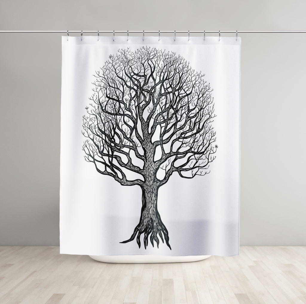 Tree Shower Curtains - Brandless Artist