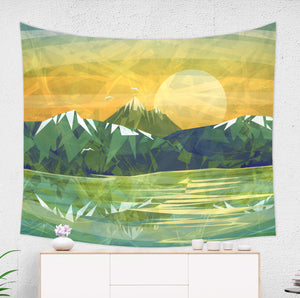 rocky mountain tapestry
