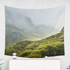Scottish Mountain Tapestry - Brandless Artist