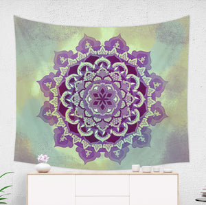 Bohemian Mandala Tapestry - Hippie Wall Decor | Brandless Artist
