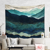 Gloomy Tapestry Mountain Wall Hanging - Cheap Home Decor | Brandless Artist