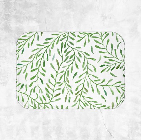 Greenery Bath Mat - Brandless Artist