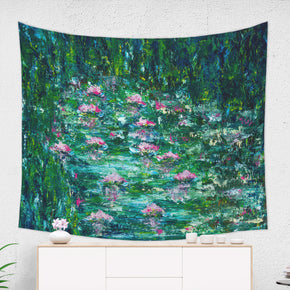 Impressionist Garden Tapestry, Inspired Nature Decor for Her | Brandless Artist