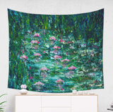 Impressionist Garden Tapestry Artistic Nature Decor for Her