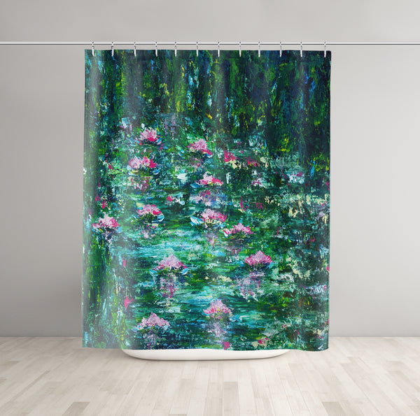 Impressionist Shower Curtain - Brandless Artist