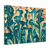 Floral Canvas Art Abstract Home Decor Made by Artist | Brandless Artist