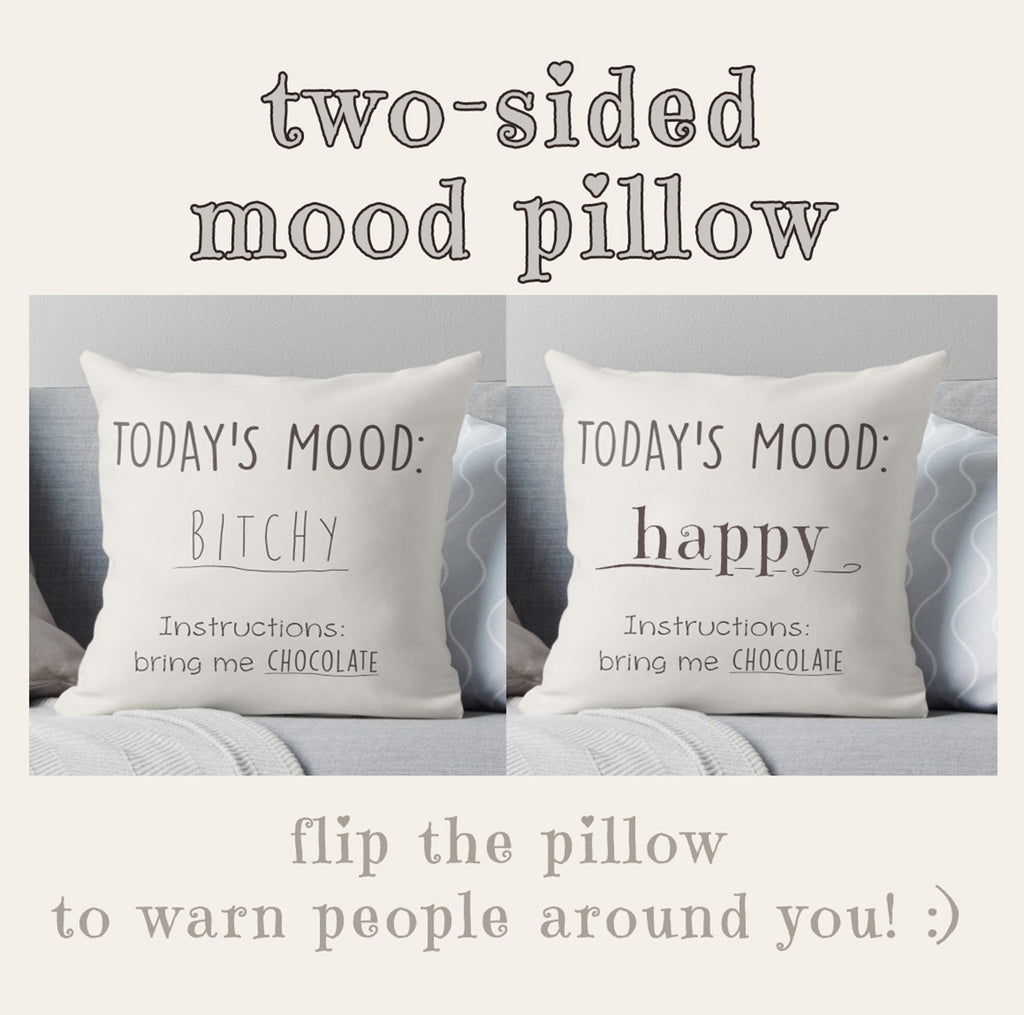 Funny Quote Pillow - Sassy Couch Pillow | Brandless Artist