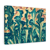 Abstract Floral Canvas Art Indoor Decor | Brandless Artist