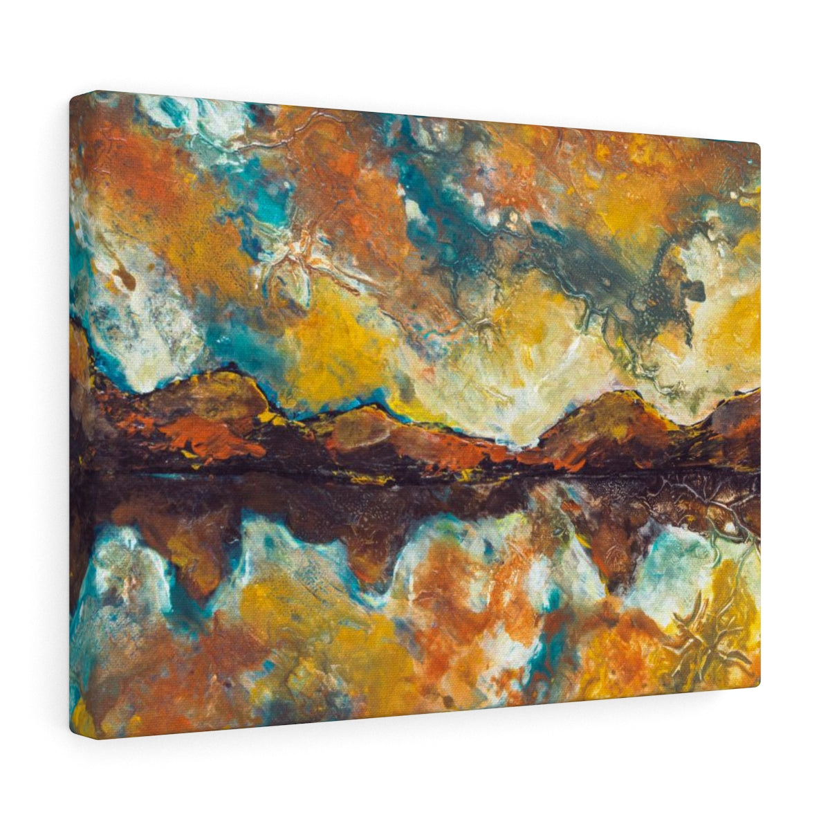 Abstract Painting Canvas Print Inspired Wall Hanging | Brandless Artist