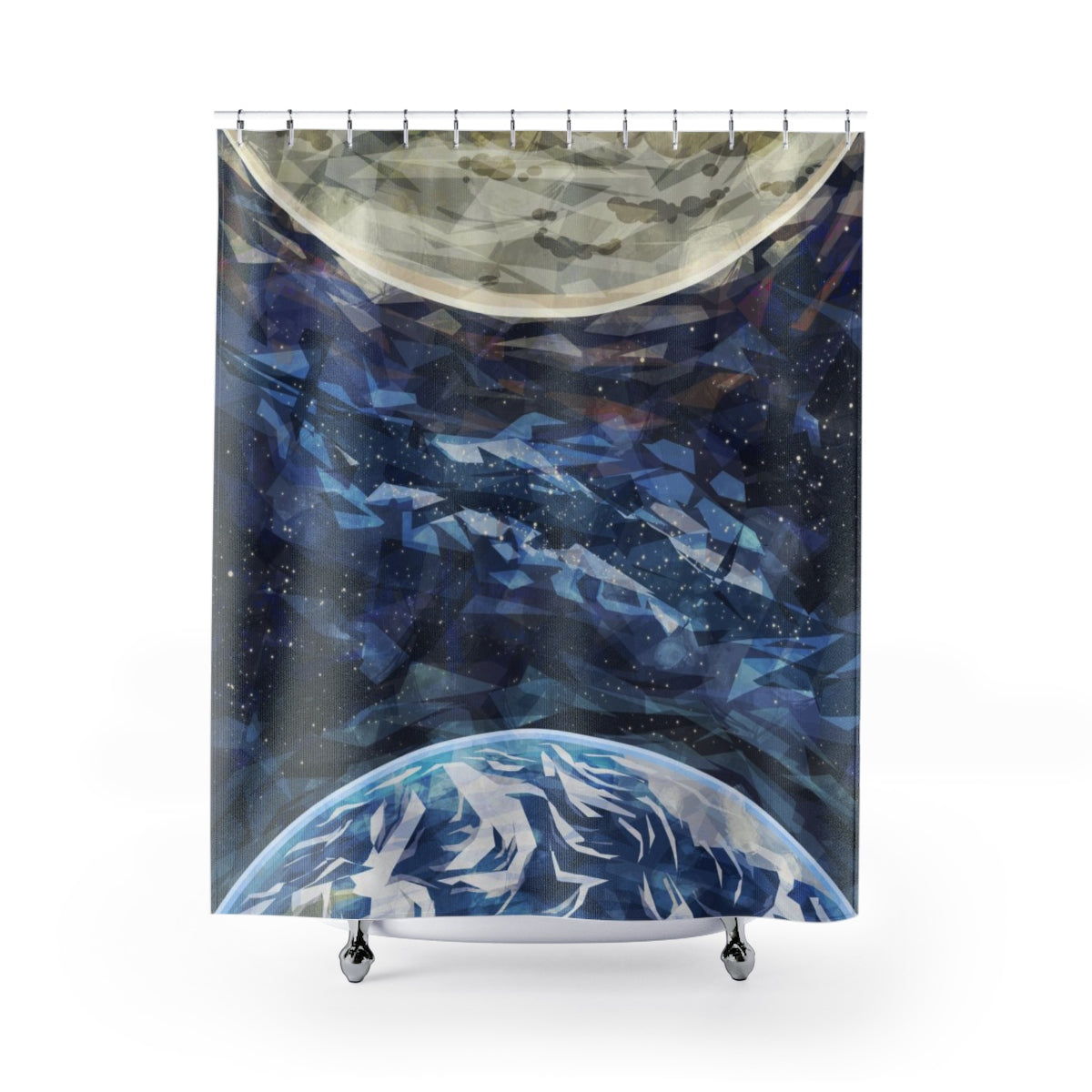 Outer Space Shower Curtain - Brandless Artist