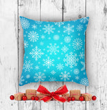 Seasonal Throw Pillow Winter Decoration for Christmas | Brandless Artist