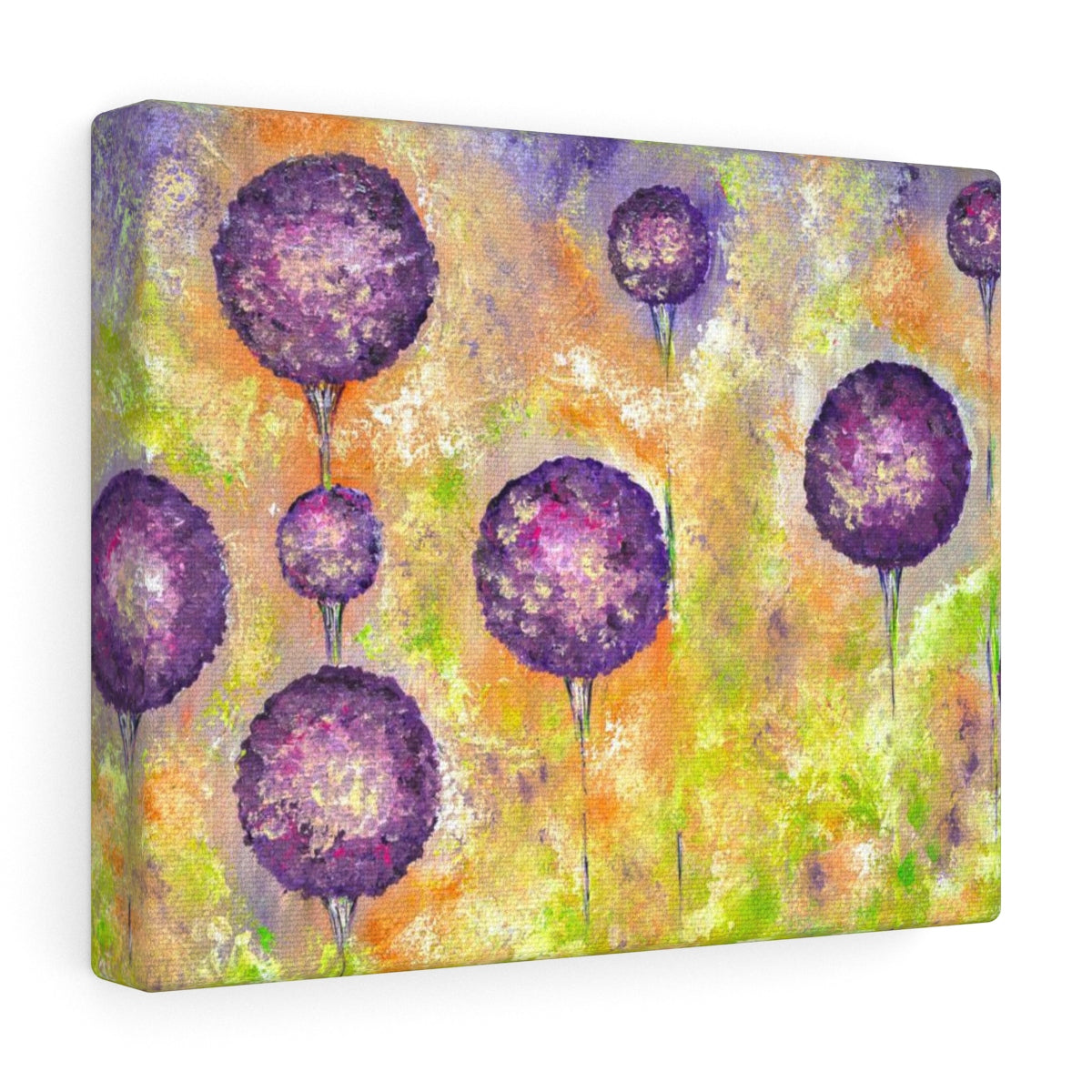 Flower Painting on Canvas Print - Floral Canvas | Brandless Artist