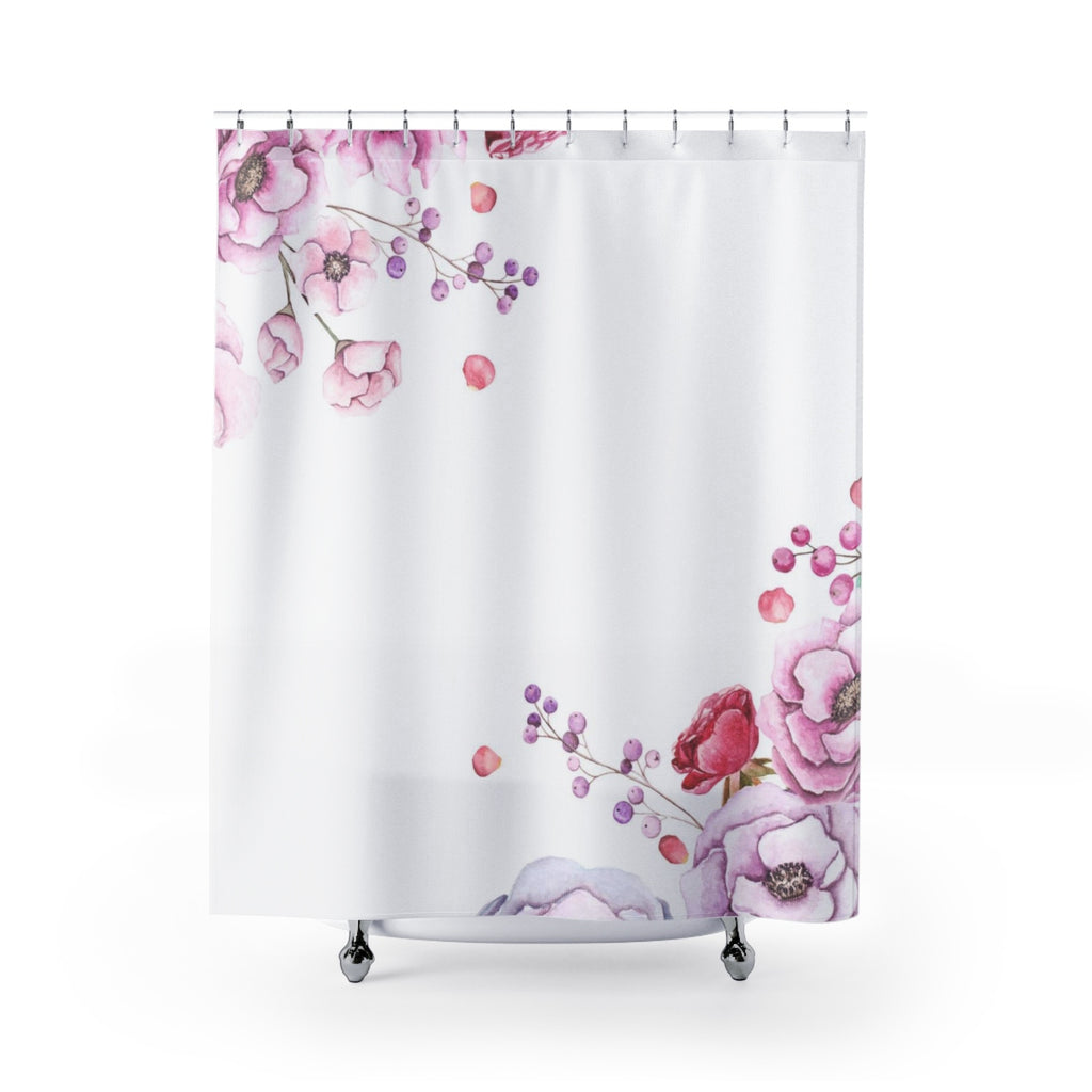 Gentle Flower Shower Curtain for Her