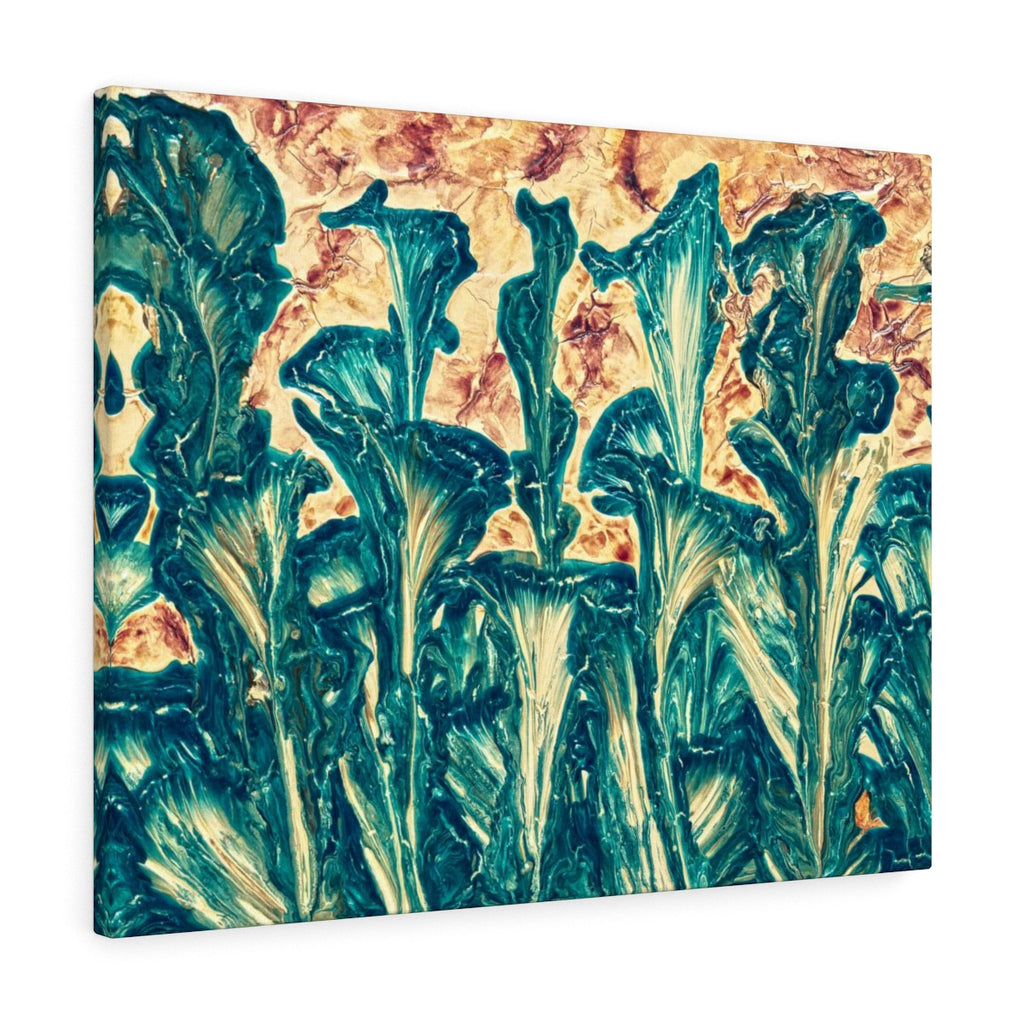Abstract Floral Canvas Art Wall Hanging  | Brandless Artist