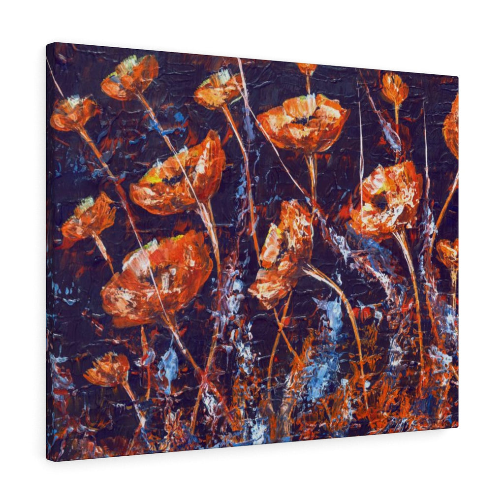 Large Canvas Print Floral Home Decor - Inspired Wall Hanging | Brandless Artist