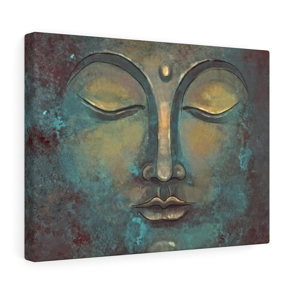 Green Buddha Canvas - Buddha Canvas Wall Art | Brandless Artist