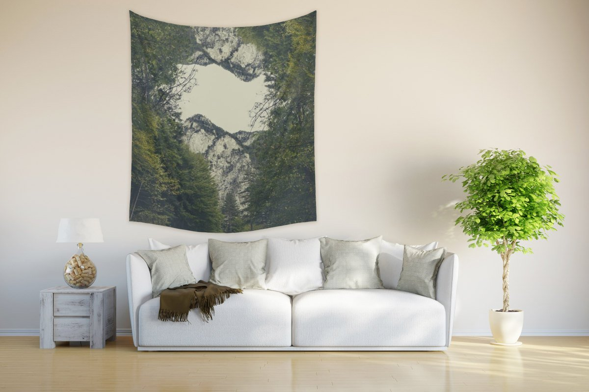 Nature Tapestry Modern Wall Hanging for Inspiration | Brandless Artist