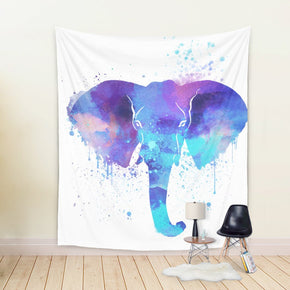 Watercolor Elephant Tapestry - Brandless Artist