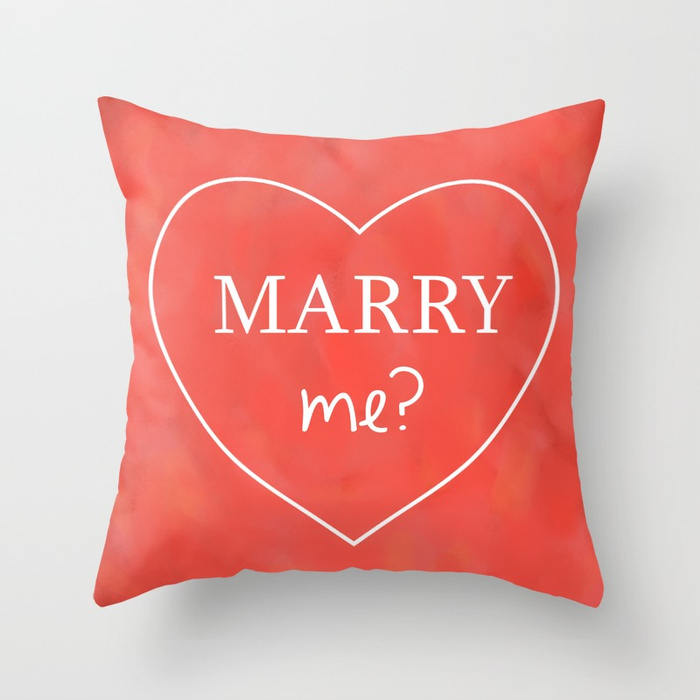 Custom Love Decorative Pillow Cover - Personalized Cushion | Brandless Artist
