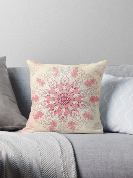 Spring Mandala Pillow - Brandless Artist