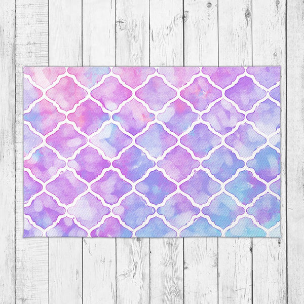Pink Moroccan Area Rug - Brandless Artist