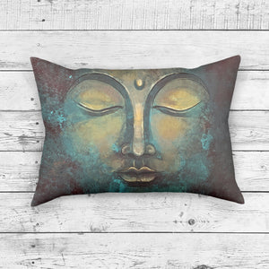 Rectangle Buddha Pillow - Brandless Artist