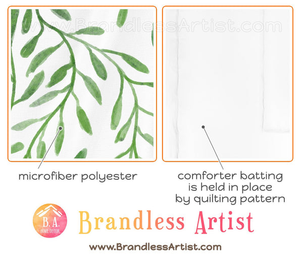 The Fabric of Our Bedding Set | Brandless Artist