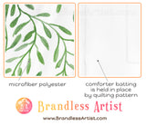 the fabric of our duvet cover set - Brandless Artist
