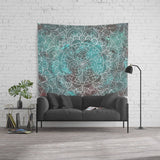 Hippie Mandala Tapestry Large Wall Hanging for Boho Rooms | Brandless Artist