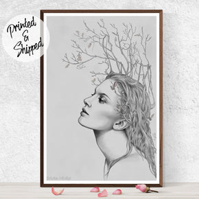 Portrait Art Print - Surreal Art Print | Brandless Artist