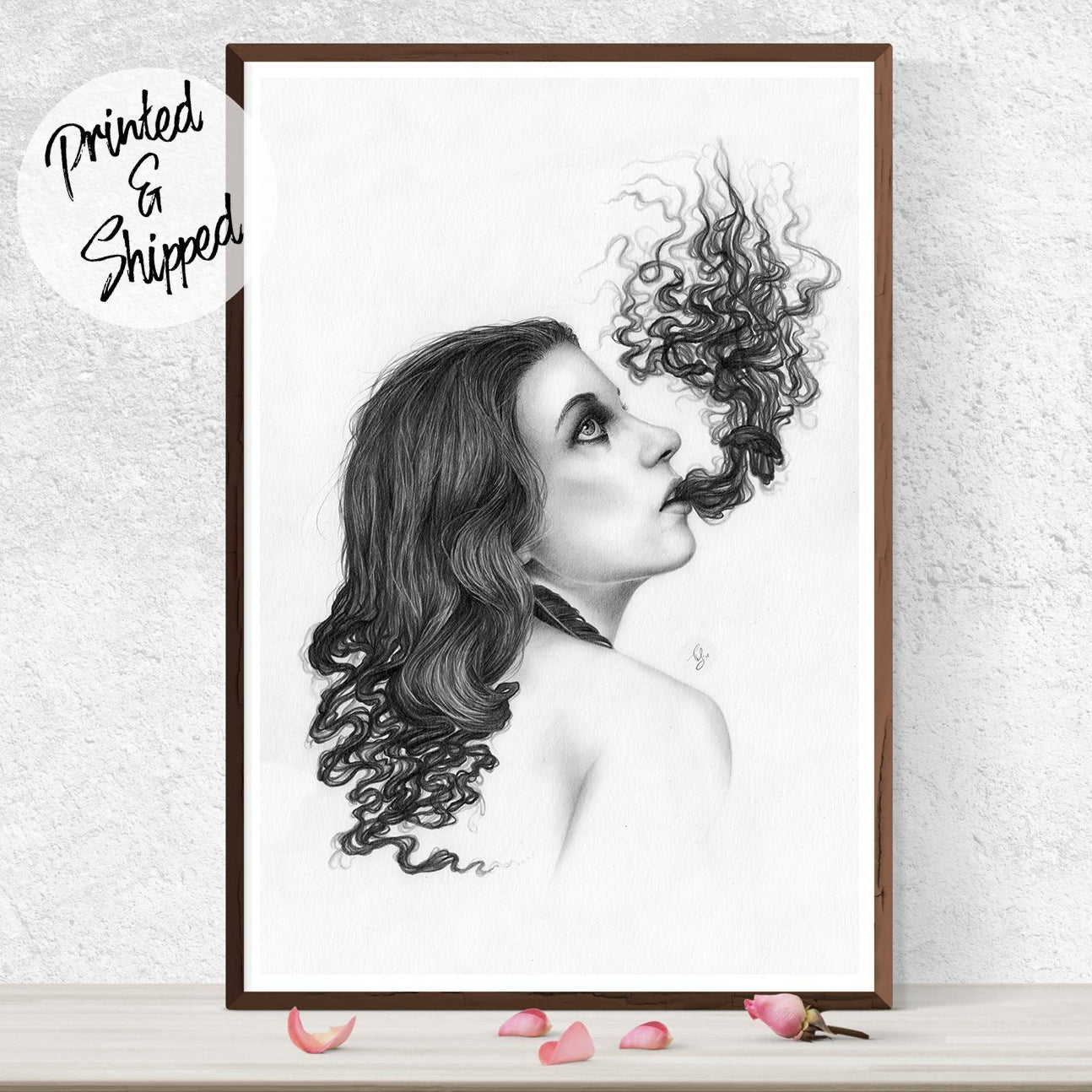Surreal Print by Thubakabra - Drawing Print | Brandless Artist