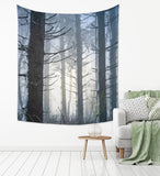 Winter Forest Tapestry - Brandless Artist